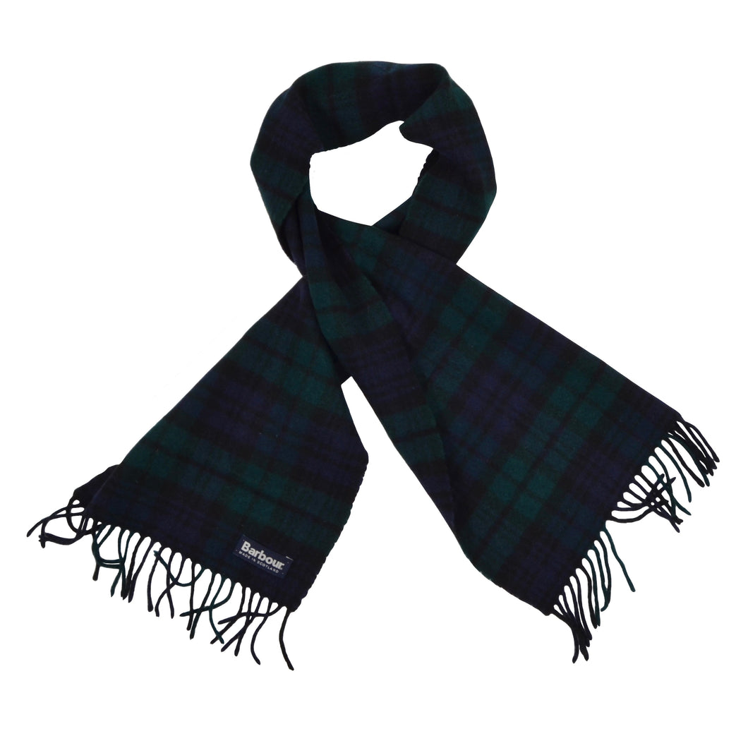 Barbour Wool Scarf - Blackwatch