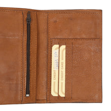 Load image into Gallery viewer, Lara's by Wall Street 2 Piece Travel Wallet - Tan
