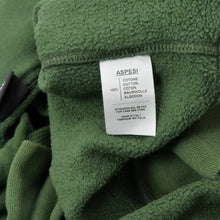 Load image into Gallery viewer, Aspesi Kinky Atoms Hoodie Size XL - Green