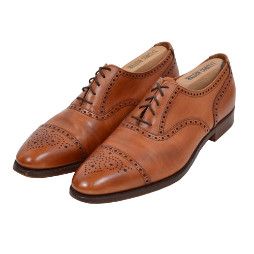 Crockett & Jones Westfield Shoes Size 10.5 E - Cognac