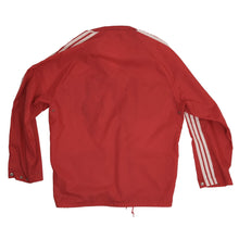 Load image into Gallery viewer, Vintage '70s-'80s Adidas Nylon Rain Jacket Size S 44-46 - Red