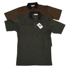 Load image into Gallery viewer, 2x Ermenegildo Zegna Polo Shirts - Green/Black