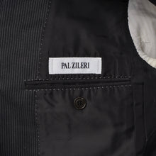 Load image into Gallery viewer, Pal Zileri Wool Suit Size 50 L - Dark Grey Stripe