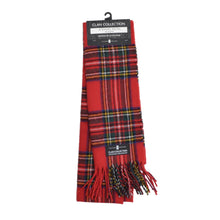 Load image into Gallery viewer, New Clan Collection Wool Scarf - Stewart Royal