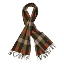 Load image into Gallery viewer, Ascot 100% Cashmere Scarf - Plaid