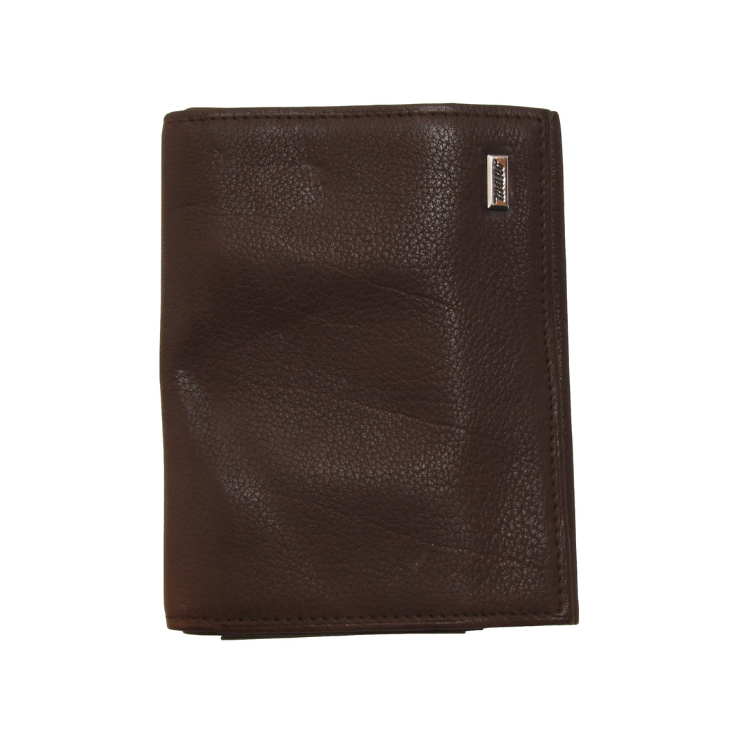 Mano Handmade Buffalo Leather Wallet - Brown