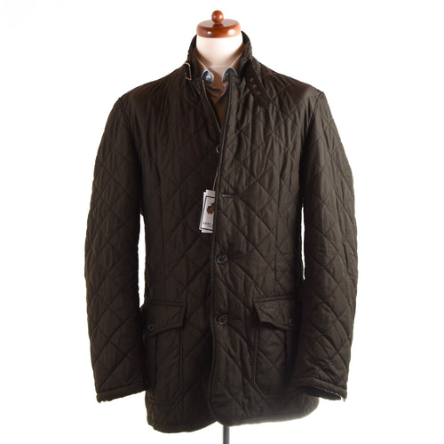 Barbour Quilted Lutz Size XXL - Olive