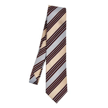 Load image into Gallery viewer, Ermenegildo Zegna Silk/Cotton Tie - Stripes