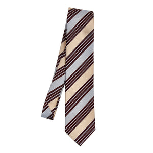 Ermenegildo Zegna Silk/Cotton Tie - Stripes