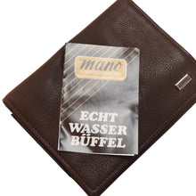 Load image into Gallery viewer, Mano Handmade Buffalo Leather Wallet - Brown