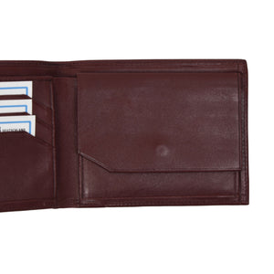 Creation Weiss Leather Wallet/Billfold - Burgundy