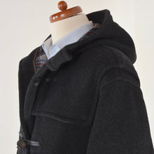 Load image into Gallery viewer, Gloverall Wool Duffle Coat Size M - Grey
