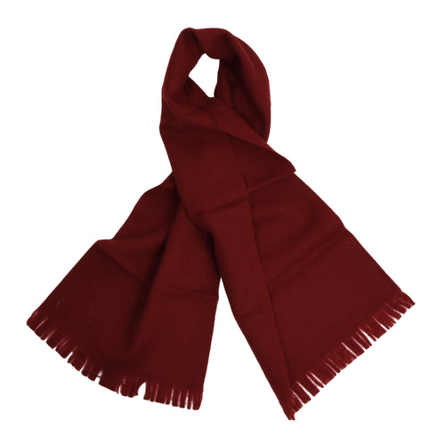 NOS Classic Maestro Wool Scarf - Red