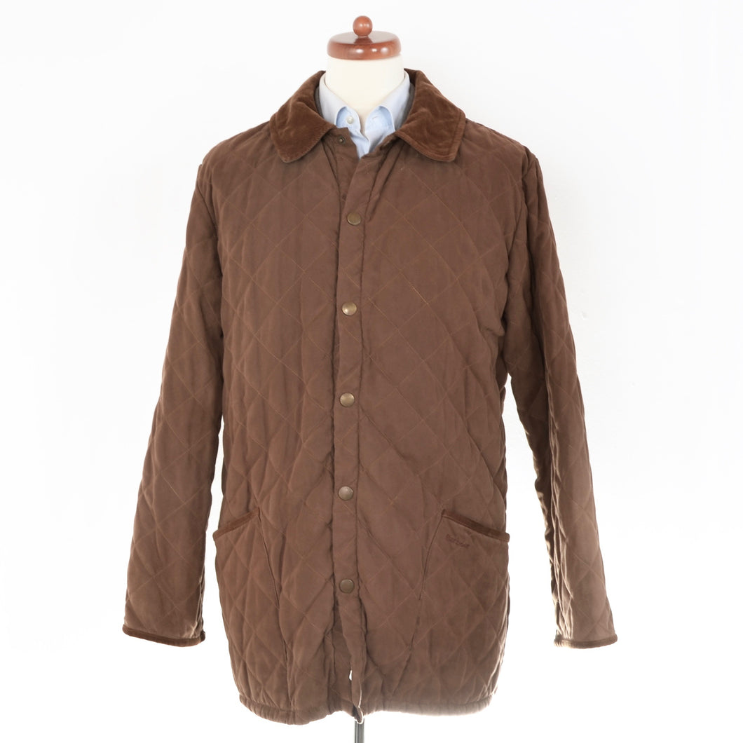 Barbour Squires Quilt Size XL - Brown