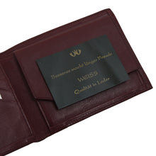 Load image into Gallery viewer, Creation Weiss Leather Wallet/Billfold - Burgundy