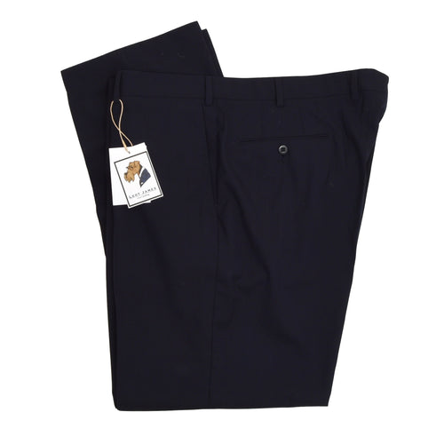 Ermenegildo Zegna High Performance Wool Pants Size 58 - Navy Blue