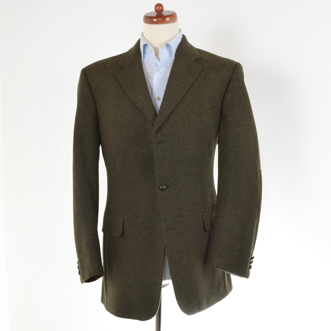 Sir Anthony Tweed Jacket Size 52 - Green