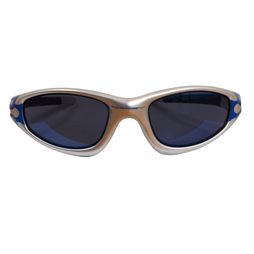 Oakley FMJ+ Straight Jacket - Silver/Blue Flames/Ice Iridium