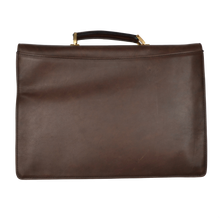 Load image into Gallery viewer, Rodeo by Mädler Oiled Leather Briefcase - Brown