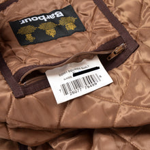 Load image into Gallery viewer, Barbour Squires Quilt Size XL - Brown