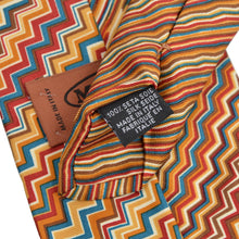 Load image into Gallery viewer, Missoni Silk Tie - Zig Zag/Stripes