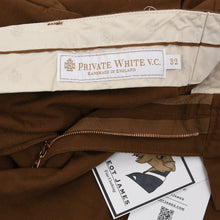 Load image into Gallery viewer, Private White VC Tropical Weave Shorts Size W32 - Tobacco Brown