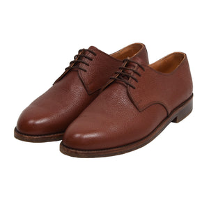 Ludwig Reiter Scotch Grain Leather Shoes Size 8 - Rust