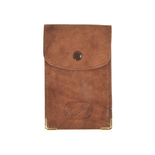 Giudi Leather Keychain/Wallet Case - Tan