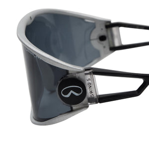 Alpina Swing Shield S Sunglasses - Silver