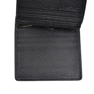 Porsche Design P3300 Leather Money Clip/Wallet - Black