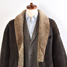 Load image into Gallery viewer, Original Shearling Coat Size 54 - Brown