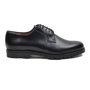 Barker England Shoes Size 10 F Wide - Black