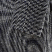 Load image into Gallery viewer, Vintage Handmade Belted-Back Wool Coat  - Houndstooth