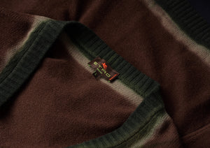 Etro Milano Wool Cardigan Sweater Size L - Ombré