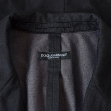Load image into Gallery viewer, Dolce & Gabbana Unlined Jacket Size 52 - Black