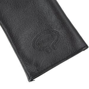 Giudi Leather Keychain/Wallet Case - Black