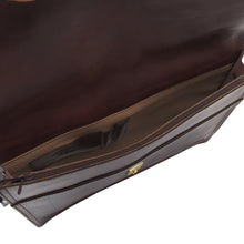 Load image into Gallery viewer, La Mode Style Leather Briefcase/Document Holder - Burgundy-Brown