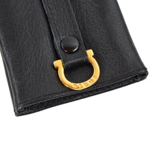 Load image into Gallery viewer, Giudi Leather Keychain/Wallet Case - Black