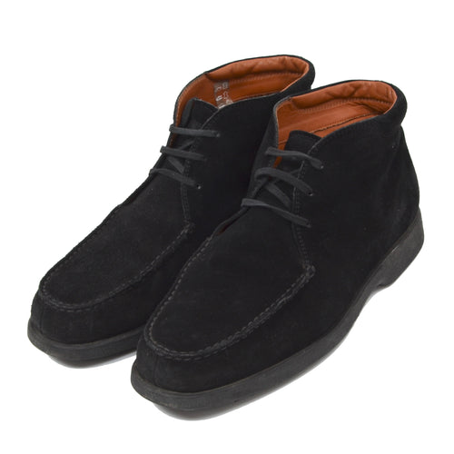 Tod's Suede Boots Size 8 - Black