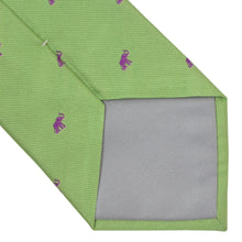 Load image into Gallery viewer, William Silk Elephant Tie -Green