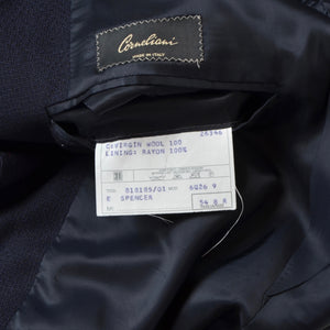 Corneliani Wool Jacket Size 54 - Navy