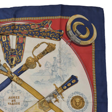 Load image into Gallery viewer, Hermès Paris Ledoux Armes de Chasse Silk Scarf