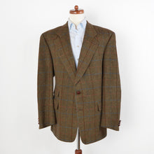 Load image into Gallery viewer, Vintage Strellson Tweed Jacket Size 54 - Windowpane