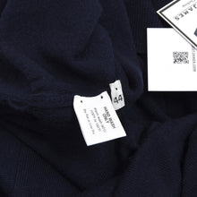 Load image into Gallery viewer, Hawico Scotland Wool Polo Sweater Size 44  - Navy Blue