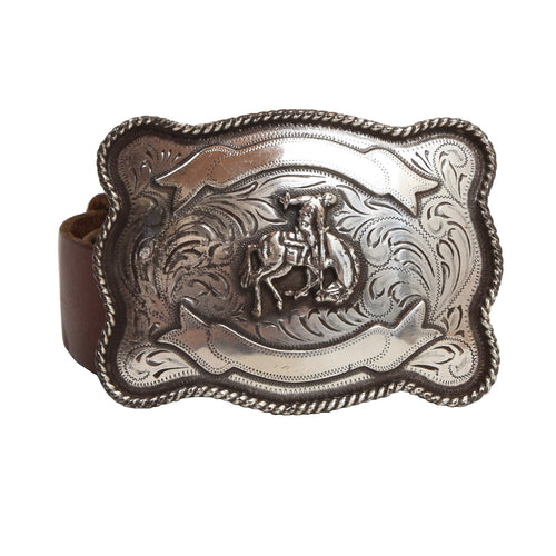 Polo Ralph Lauren Rodeo/Cowboy/Western Belt Size 32/80- Brown