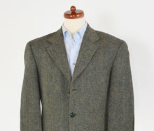 Load image into Gallery viewer, Cyrillus Harris Tweed Jacket Size 50 - Green