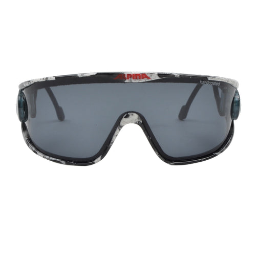 Alpina Swing Shield S Sunglasses - Black & White