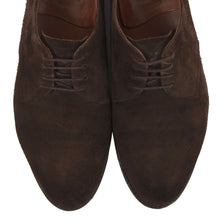 Load image into Gallery viewer, Ludwig Reiter Suede Derby Shoes Size 9 - Chocolate Brown