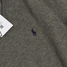 Load image into Gallery viewer, Polo Ralph Lauren Merino Wool Sweater Size M - Grey