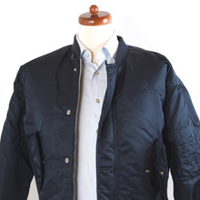 Load image into Gallery viewer, Schott Spec 86 19-MS Flight Jacket Size S - Navy Blue